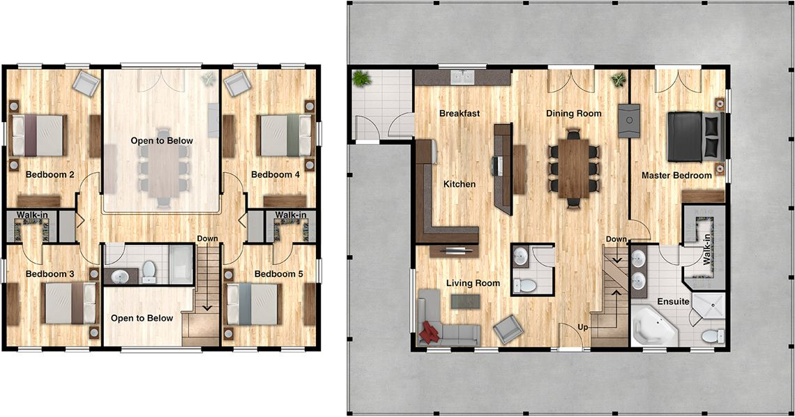 Autumn Wood Floor Plan