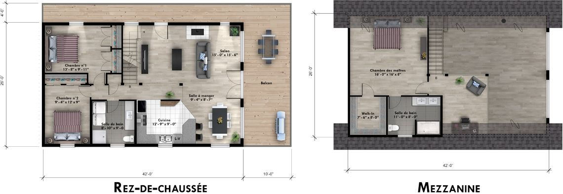 Mohican I Floor Plan