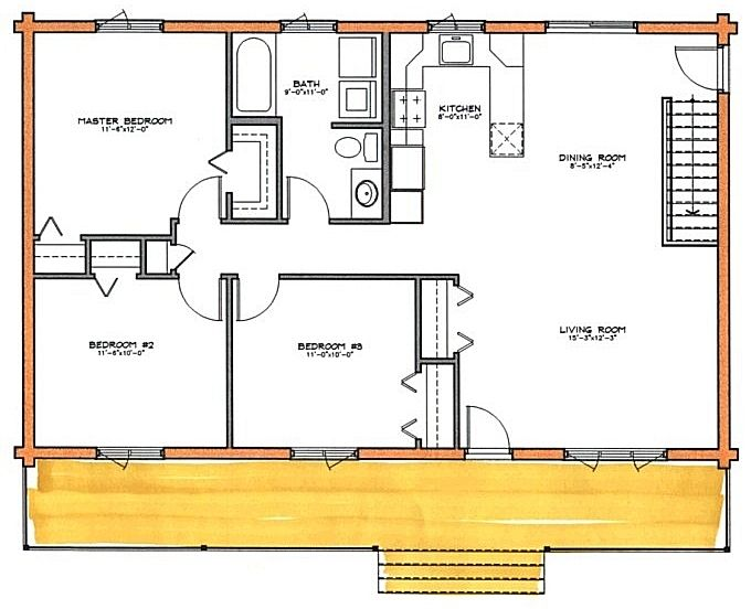 Outdoors' Man Floor Plan